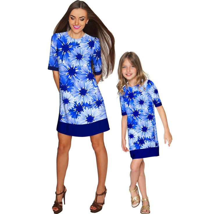 Wild Bloom Grace Shift Floral Mommy and Me Dress