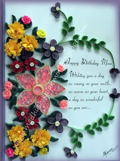 Beautiful Quilling by Madhushika Lakmini
