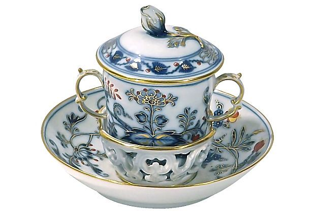 Meissen Porcelain Demitasse Cup