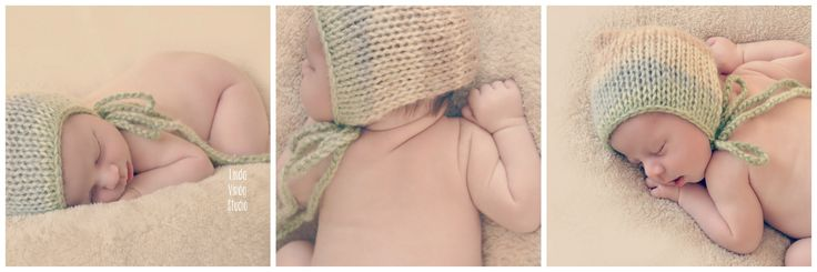 #newborn #baby #photos #love #photography #family #knit #bonnet