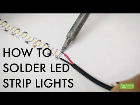 Tutorial learn how to solder led strip lights circuit boards tutorial learn how to solder led strip lights circuit boards pick up some helpful tips along with way lighting information pinterest tutorials mozeypictures Image collections