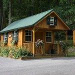 February: Tiny Cabin, Small Cabin, Cabin Ideas, Tiny House, House Ideas, Camps Cabin, Little Cabin, Tiny Home, Logs Cabin