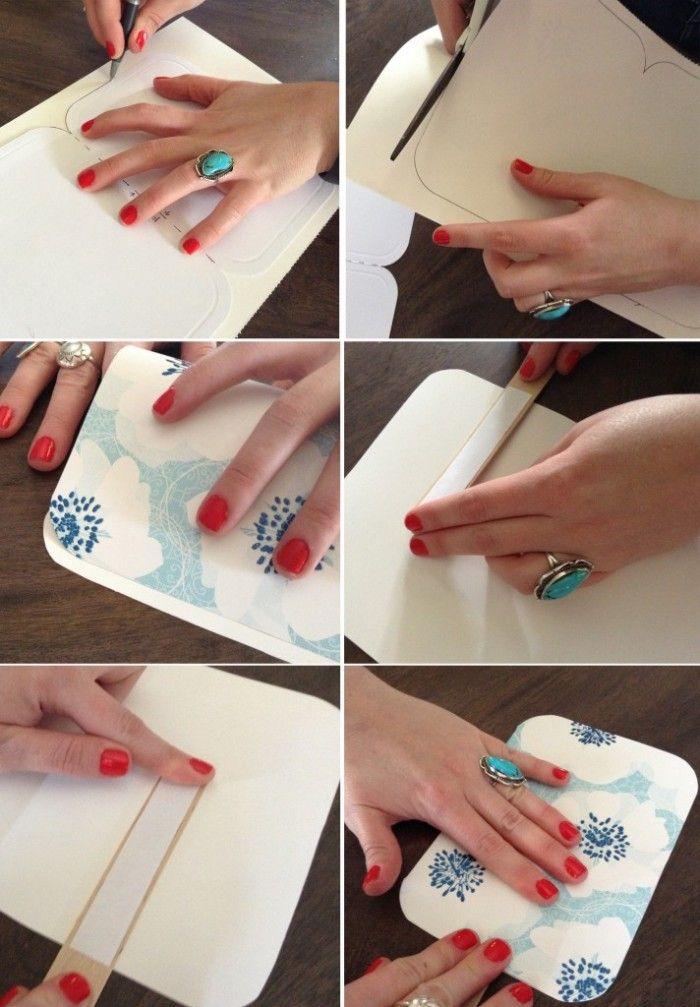 Como hacer pai pais para bodas de papel