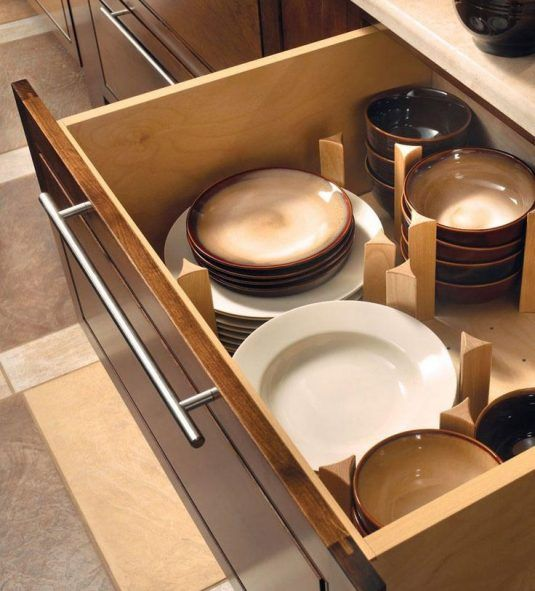 Smart And Practical DIY Dishes Organizers That You Are Going To Love