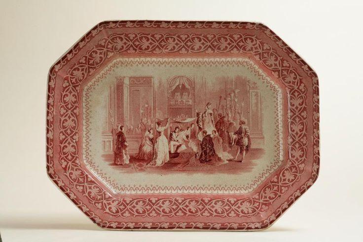 Esta fuente recoge la doble boda real  de Isabel II y de su hermana  en 1846