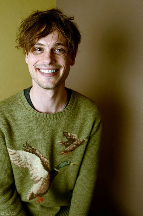 """0laura0:  New York Times -Portraits at Sundance:Matthew Gray Gubler of """"Life After Beth."""" thanks to bayshit."""