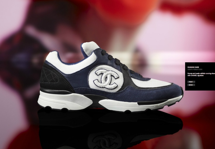 Chanel Running Shoe.