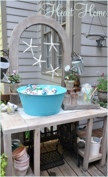 17 Best Images About Potting Benches Amp Decor On Pinterest