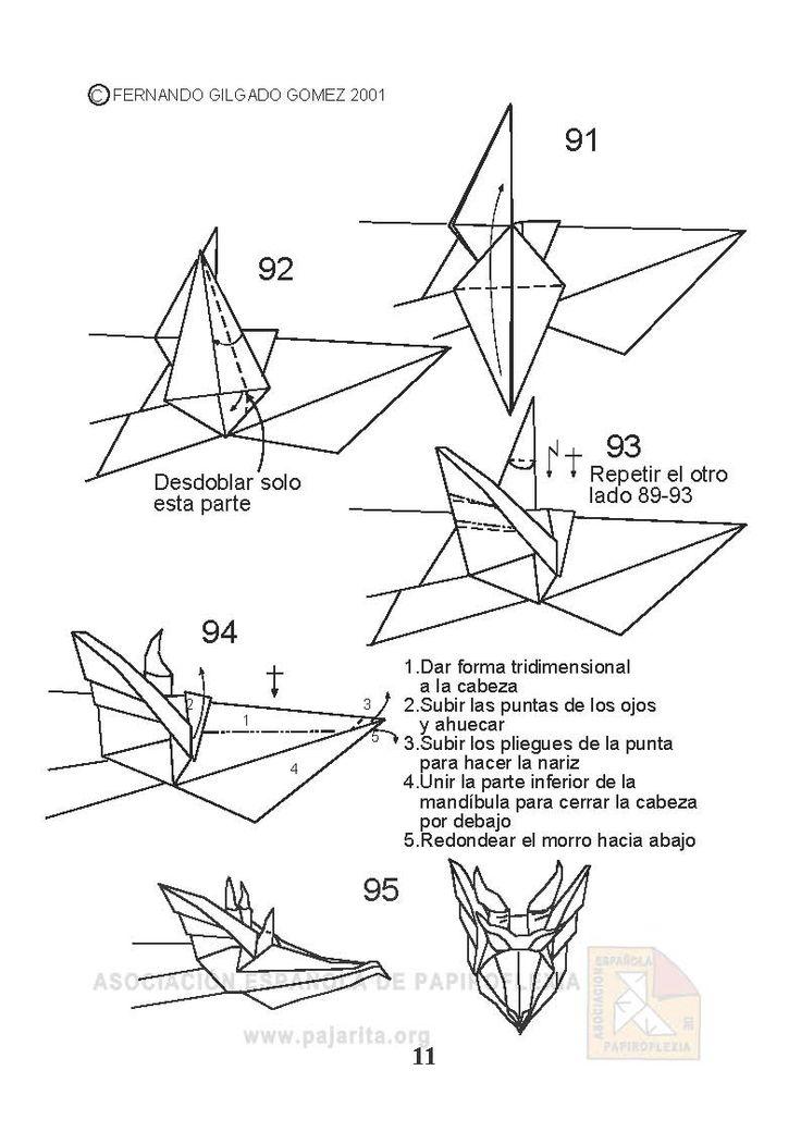 dragon de origami  affordable recuerden que practicando es