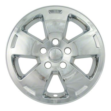 "Chevrolet Impala Chrome Wheel Skins / Hubcaps / Wheel Covers 16"""" 5070 2006 2007 2008 2009 2010 2011 2012 SET OF 4"