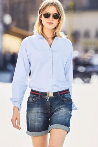 Buy Chambray Casual Shirt from Next Russia