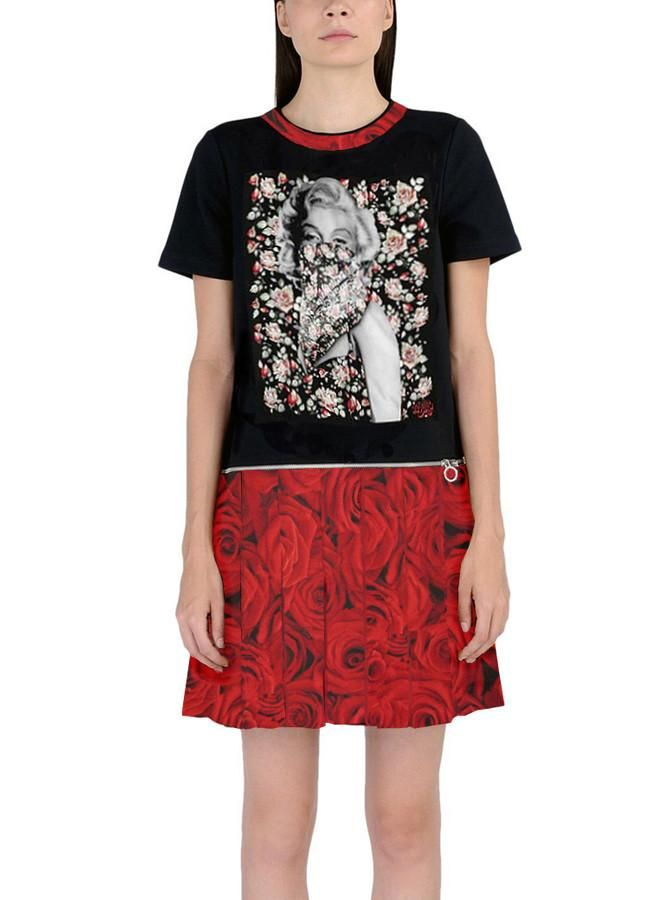 f125255be9c Women s Marilyn Monroe Flowers Dress W  Zipper Turns Into T-Shirt – IDILVICE