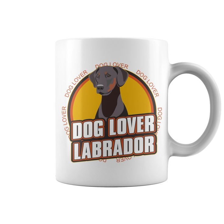 Dog lover labrador dog breed coffee cup