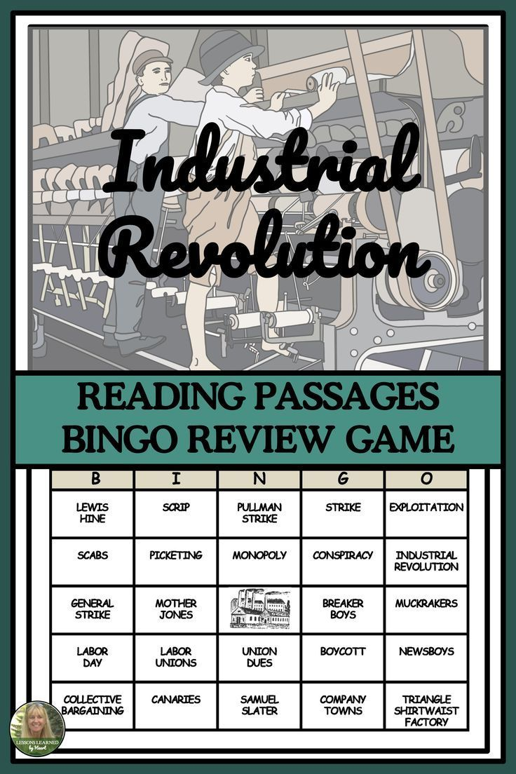 The Industrial Revolution And Labor Movement Reading Passages And