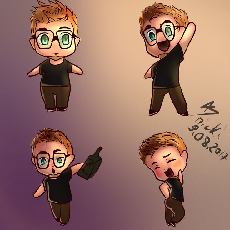 #Chibi #poses #normal #happy #drunk #sexy
