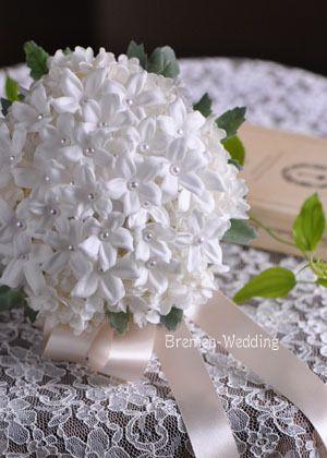 「白いジャスミンのブーケ」の画像 ウェディングブーケのデザイン集  Ameba (アメーバ)