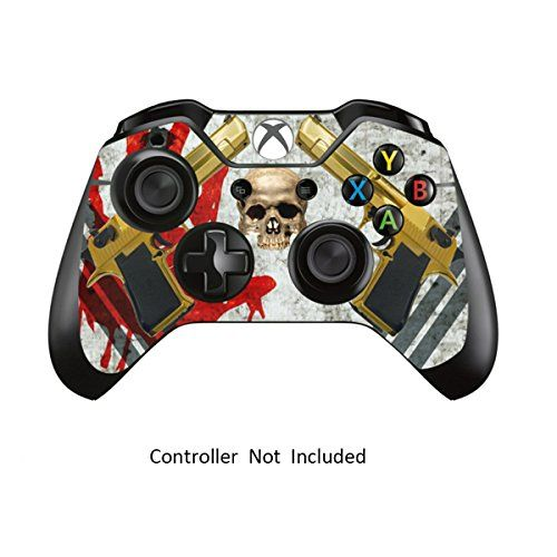 Skins Stickers for Xbox One Games Controller  Custom Orginal Xbox 1 Remote Controller Wired Wireless Protective Vinyl Decals Covers  Leather Texture Protector Accessories  Ghost Op ** To view further for this item, visit the image link.Note:It is affiliate link to Amazon.