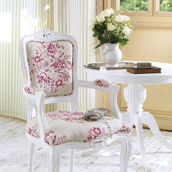 cadeira luis xv e mesa