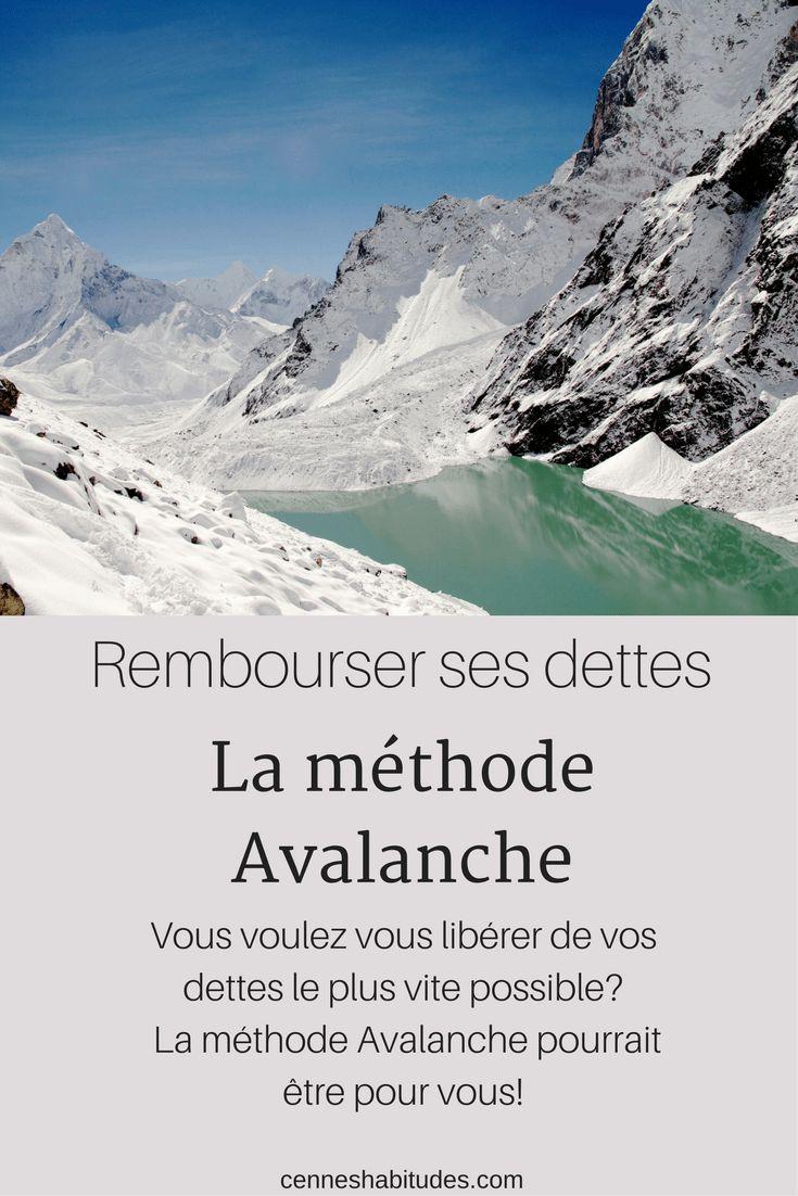 Rembourser ses dettes avec la méthode Avalanche