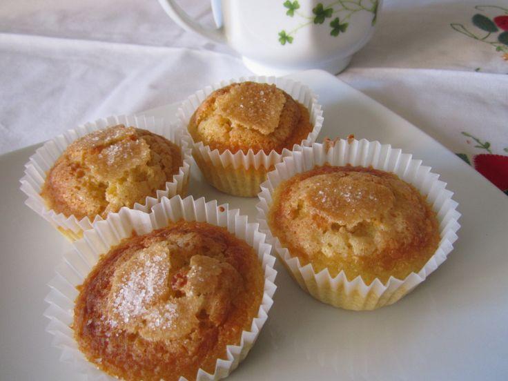 Lemon madeleines with lentils - Magdalena de limón con lentejas - http://www.legumechef.com/