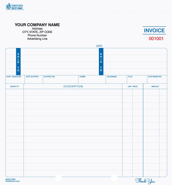 16 best Invoice Forms images on Pinterest Business checks - are invoice and purchase order the same
