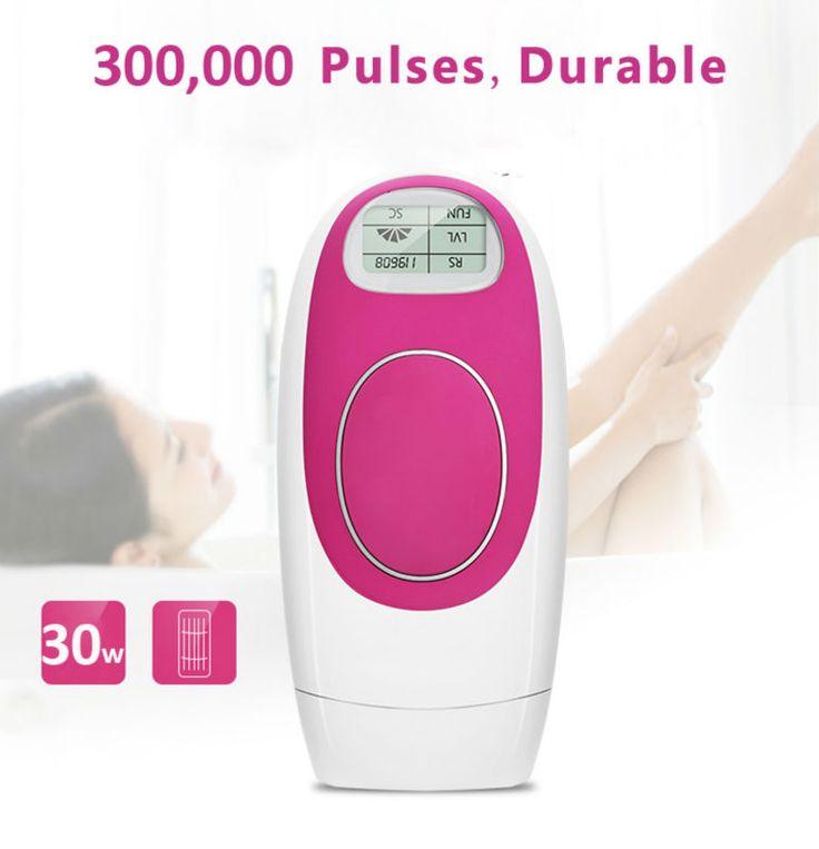 Permanente IPL Depilazione Laser Macchina di Rimozione Dei Capelli Uomo Donna Indolore 300,000 Impulsi