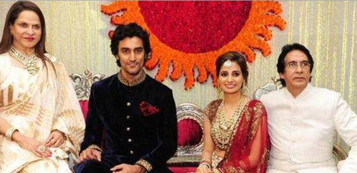 Kunal Kapoor's Wedding Reception: Celebs Bless The Couple