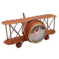 Vintage Aeroplane Clock - Presents for HIM