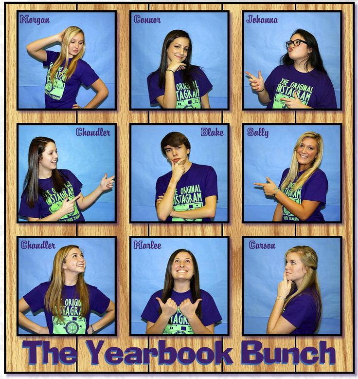 With my son being the only boy on the yearbook staff, the idea for the YEARBOOK BUNCH worked perfectly.  University Heights Academy,  The Advocate - Yearbook,  Hopkinsville, KY