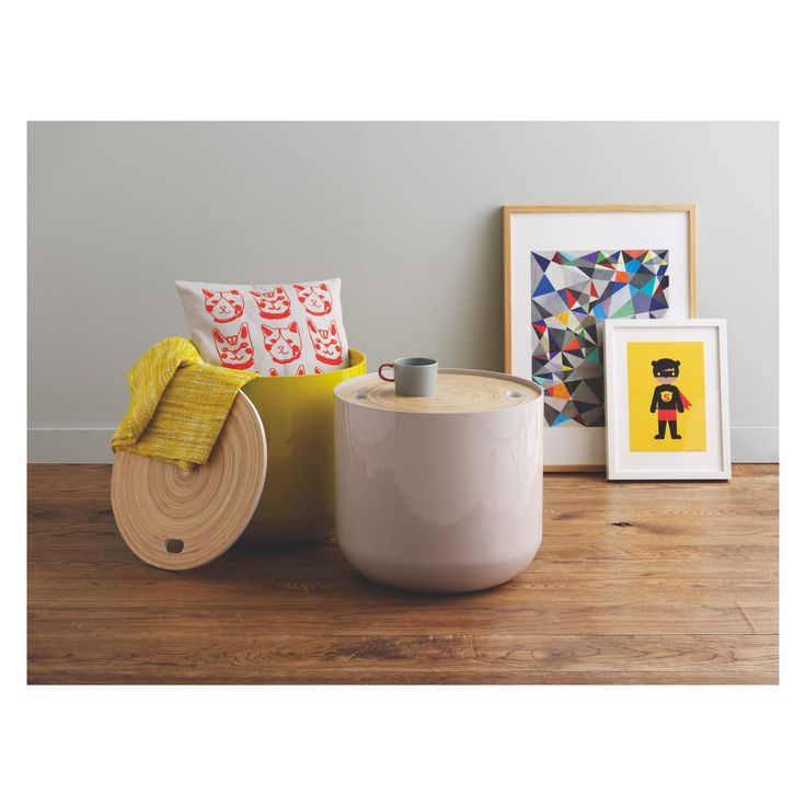 BLYTH Mushroom storage side table | Buy now at Habitat UK