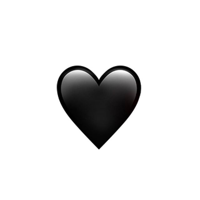 best 25 black heart emoji ideas on pinterest january 21