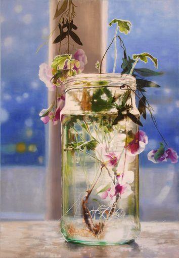 Nikkie le Nobel, oil on canvas 200x140 cm