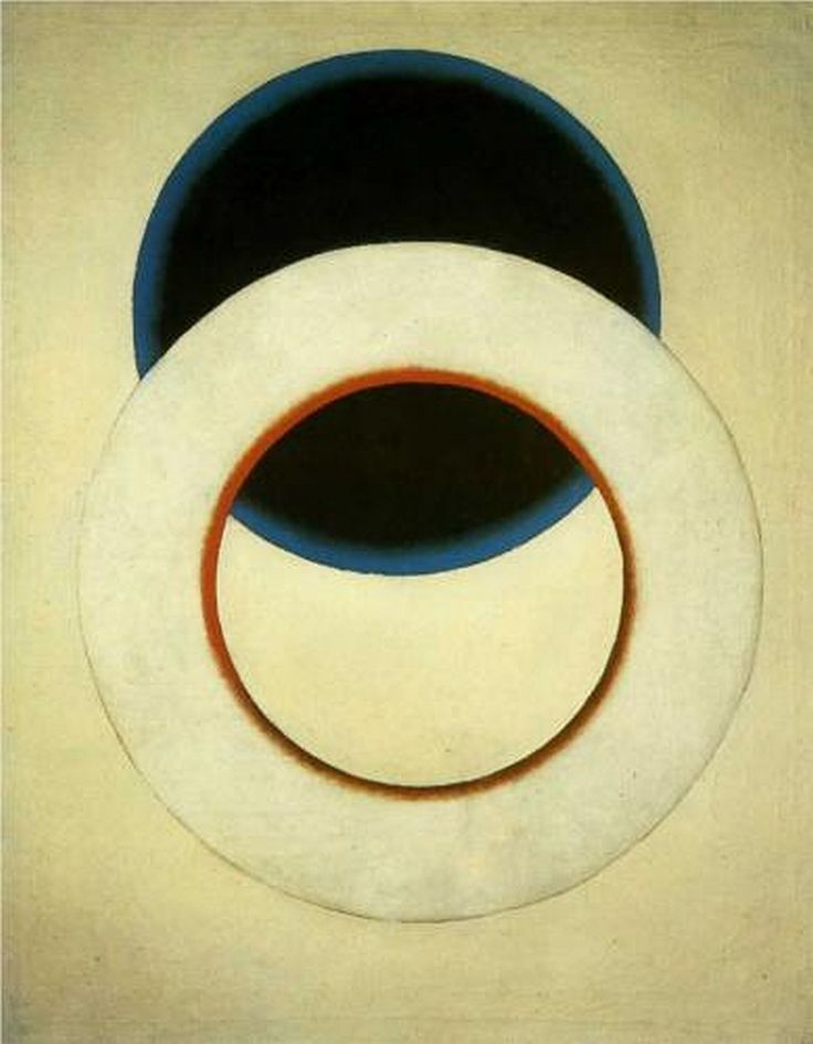 'White Circle' (1918) by Russian artist Alexander Rodchenko (1891-1956). via seed capsules