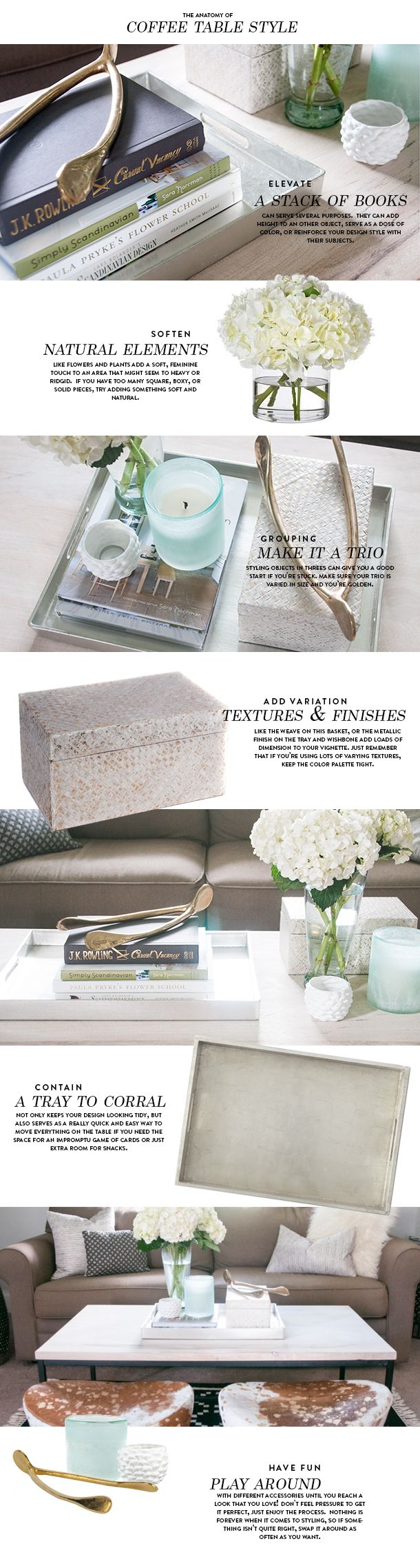 Summer Styling Series: Coffee Table Styling