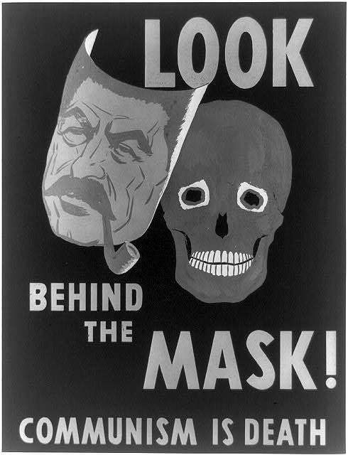 Anti communist propaganda cold war can recommend