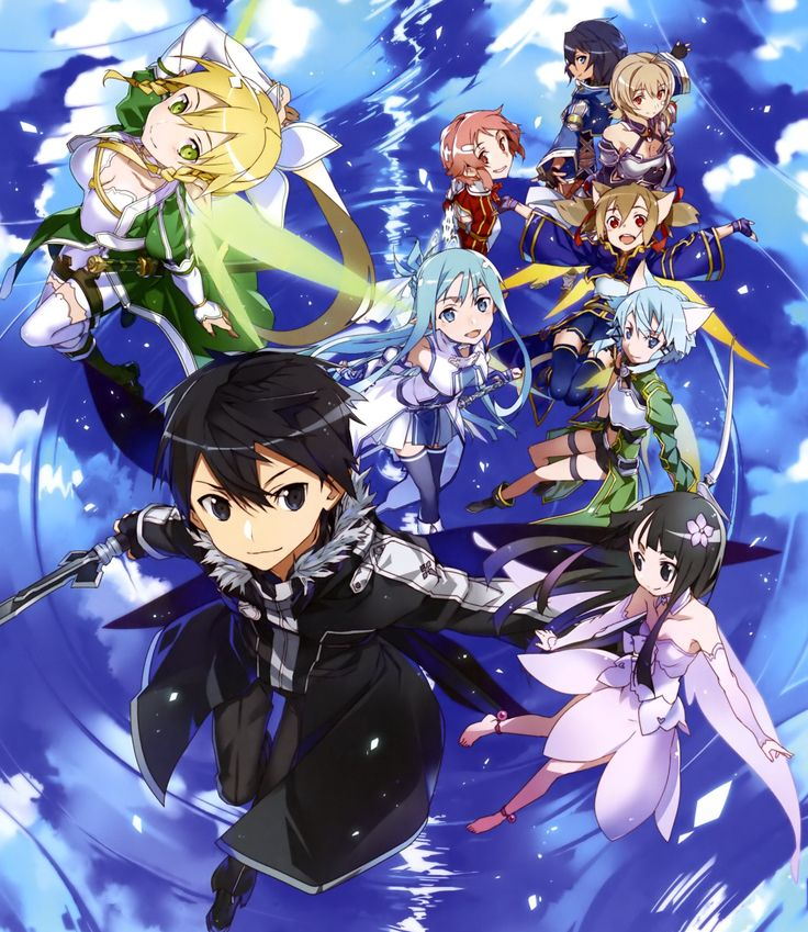 Sword Art Online, ALO, official art
