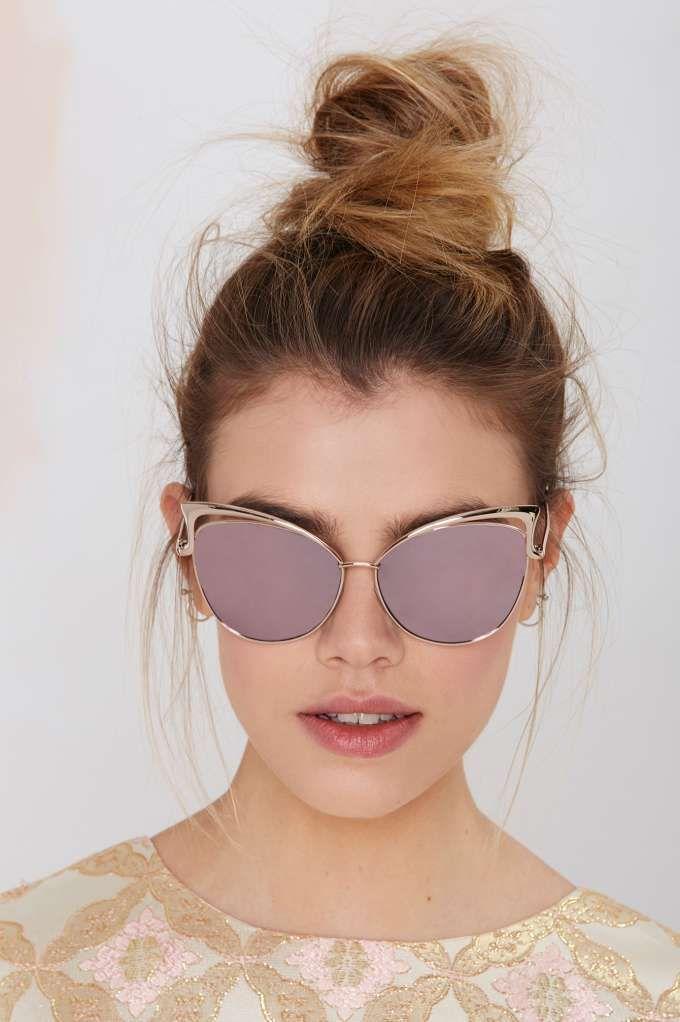 Spielberg Tech Clarity Cat-Eye Shades - Accessories | Eyewear | Back In Stock