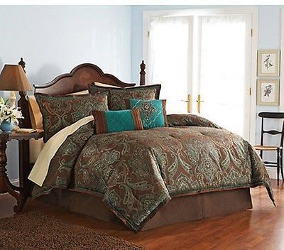 bedding brown beds better homes and gardens jacquard home and garden