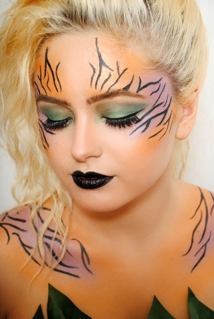 Creative wild tiger inspired makeup by one of our talented students.