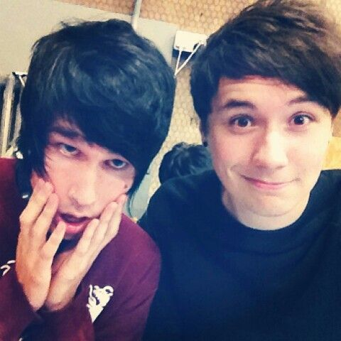 DAN AND HIS BROTHER, ADRIAN. YES
