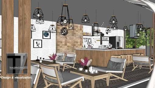 Cafe Bar Coffee Shops Ladeninneneinrichtung Skizze Innenarchitektur Haus Stil Suche