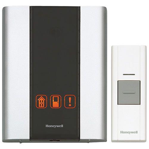 Le carillon de porte portatif sans fil avec bouton-poussoir de Honeywell est à la fois un carillon de porte et un dispositif de sécurité offrant une portée de 225 pi. Il offre la possibilité d'utiliser jusqu'à 3 émetteurs (bouton-... Obtenez la livraison gratuite sur les commandes de plus de 35 $.
