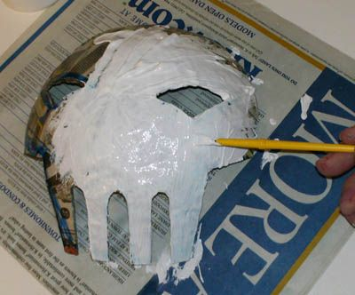 Paper Mache Tutorial Explains How To Make A Paper Mache