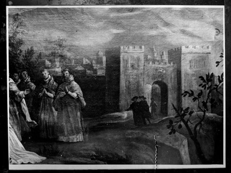 Visor Archivo General Región de Murcia. FM,1031/2 / Orden de la Santísima Trinidad de Murcia: Archivo de clichés antiguas puerta de murcia