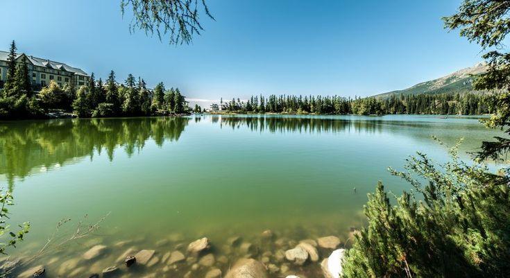 Štrbské Pleso Lake in High Tatras, Slovakia http://timeforslovakia.com/highlights-slovakia