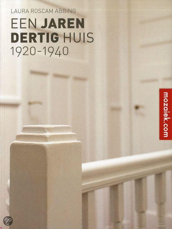leuk boek om cadeau te geven als je vrienden naar een jaren dertig huis verhuizen. Besteld bij de boekhandel onder de Dom servetstraat | 3d ontwerp | monique van waes mozaiek.com