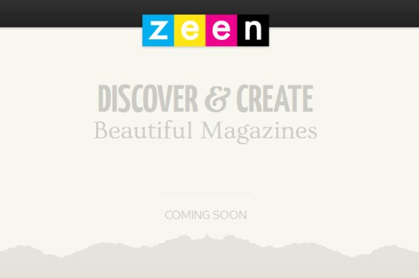 """YouTube founders readying 'Zeen' magazine platform  A teaser page on the Web suggests Chad Hurley and Steve Chen will soon launch a new service called """"Zeen"""" -- designed to let users """"discover and create beautiful magazines."""""""
