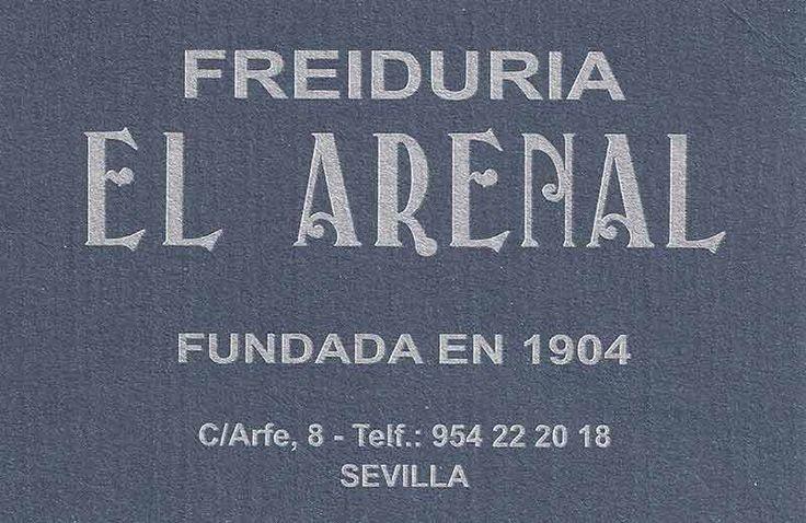Freiduria El Arenal. Página en Telepescaito.es