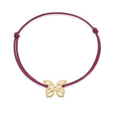 Try the mini openwork Butterfly by Lilou to highlight your Spring look! Jewel available in 23k gold-plated and 925 silver #lilou #butterfly #spring #mini #openwork #look #bracelet
