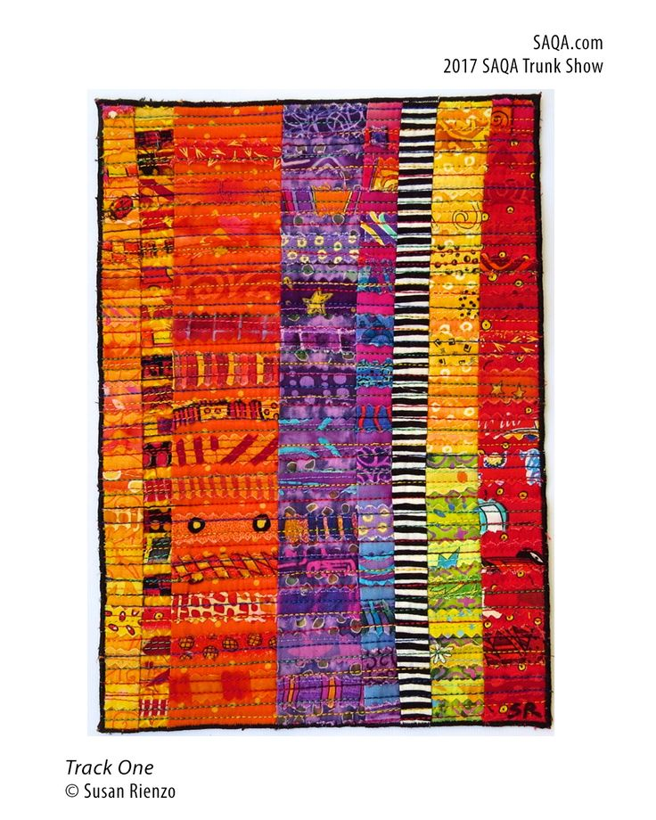 Art Quilt By Susan Rienzo